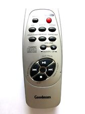 GOODMANS CD RADIO REMOTE CONTROL for CD48PRC