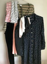 Ladies Maternity Clothes Small Bundle  Size 14 H and M Mama