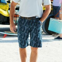 "Samuel Windsor Men's Printed Casual Shorts 100% Cotton Summer Wear 30 - 46"" NEW"