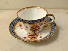 Antique WAA &Co Adderley England Kimberly Porcelain Cup & Saucer