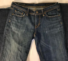 CITIZENS OF HUMANITY Ingrid #002 Distressed Low Rise Flare Jeans size 27