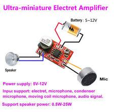 DC 5V-12V Micro Electret Amplifier MIC Condenser Mini Microphone Amplifier Board