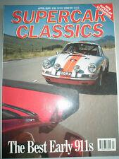 Supercar Classics Apr 1990 Abarth 850TC, Porsche 911, Gordon Keeble