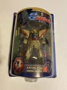 "**RARE **Gundam Mobile Fighter G Shining 6 Japanese Version 7.5"" BNIB"