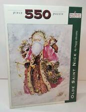 Spilsbury Puzzle Olde Saint Nick By Peggy Abrams Santa Christmas 550 Pieces NOB