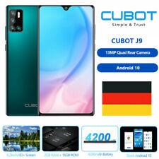 Cubot 6,2 Zoll J9 Smartphone 2GB+16GB Android 10 Handy 4200mAh Dual SIM 3G Band