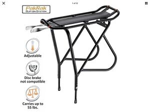 Ibera Bike Rack – Bicycle Touring Carrier with Fender Board, Non-disc brake