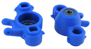 RPM 80585 - Axle Carriers & Oversized Bearings, Blue, Revo