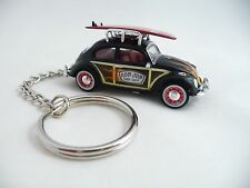 Volkswagen VW Woody Beetle Bug Ron Jon Surf Shop Key Chain Surfing Keychain