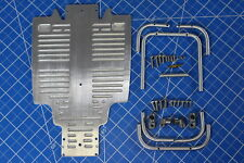Sand Scorcher Buggy Champ Front & Rear Bumper Guard +Chassis A Plate Tamiya 1/10