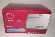 New in Box Connoisseurs LA Sonic Jewelry Cleaner cleans and rinses