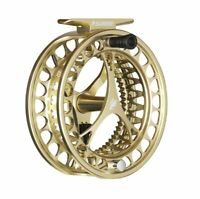 Sage Click 3/4/5 Fly Reel - Color Champagne - NEW - FREE FLY LINE