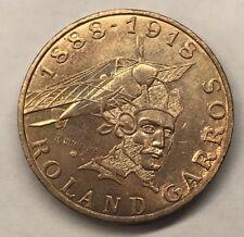 10 Francs Rolland Garros 1988 Monnaie Française Commémorative TTB MINIMUM