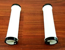 Velo Mountain Bike Locking Lock-On Handlebar Bar Grips White