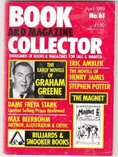 BOOK AND MAGAZINE COLLECTOR  -   No 61 -- APRIL 1989