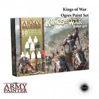 Kings of War Warpaints: Ogres Paint Set - Army Painter Mantic KoW THG