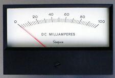 Simpson Panel Meter  • 524-15080  •  0-100 MILLIAMP