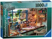 RAVENSBURGER PUZZLE*1000 TEILE*MY HAVEN 1*THE CRAFT SHED*RARITÄT*NEU+OVP