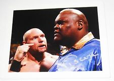 WWE VISCERA HAND SIGNED 8X10 PHOTO WITH PICTURE PROOF AND COA 3