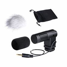 Movo VXR260 Mini X/Y Stereo Condenser Video Microphone for DSLR Video Camera