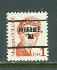 Ferndale WA 281 precancel on 1 cent Great American