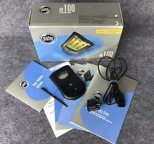 Palm One m100 Handheld PalmOne Pda Pilot Original Box Software & Cable