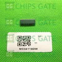 9PCS MC34118DW SOP-28 VOICE SWITCHED SPEAKERPHONE CIRCUIT