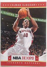 DeMar DeRozan Guard Toronto Raptors Original Panini #31 2011-2012 Single 9