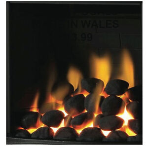 Gas Fire Replacement Coals Small Oval Coal mixed cast( premium quality) WELSH