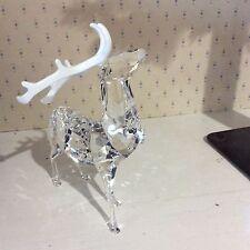 Swarovski Christmas Stag Reindeer Crystal Figurine Large 5155699-P NIB