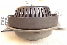 "Sioux Chief 4"" Cast Iron No- Hub Commercial - 868 Series Roof Drain & Overflow"