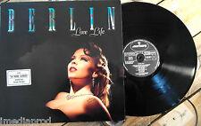 BERLIN LOVE LIFE LP 33T VINYLE EX COVER EX 818329-1
