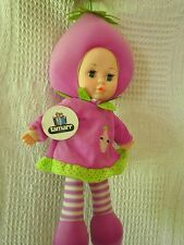 GRAPE BABY FRUIT DOLL  BRAND NEW IN PACK 36 CMS / 14 INCHES