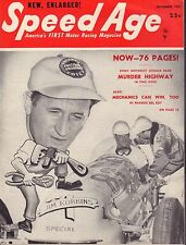 Speed Age Magazine December 1951 Jim Robbins 080217nonjhe