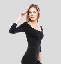 Perfect Balance from Sole PBW Phaze Top shirt Yoga stretch ala Lululemon L Blk