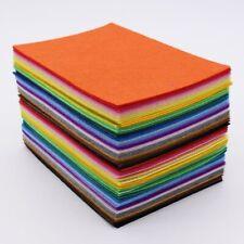80pcs/lot 1mm felt fabric Polyester A6 Feltro Fieltro fabrics Craft,cloth Cloth,