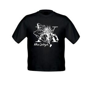 Hunter X Hunter Killua Zoldyck Godspeed Kid Girl Boy Youth Crew Neck Top T-Shirt