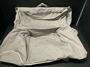 Pottery Barn Kids FIRST ANYWHERE Chair Gray W Pipe SLIPCOVER COVER Birthday NEW