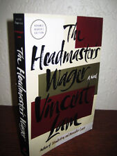 1st/1st Edition THE HEADMASTER'S WAGER Vincent Lam PROOF Advance