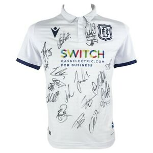 Dundee FC Signed Jersey - Autographed Shirt - 2020-2021 +COA