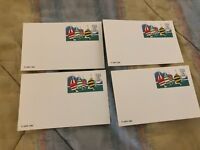 lot USA Olympics 84 USPS 1983 Sailing 13 Cent Postage Postcard Old Vintage Card
