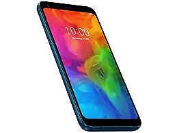 Brand New LG Q7 Plus 5.5 FHD 64GB Blue Unlocked for MetroPCS + 1 year Warranty