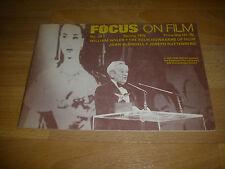 FOCUS on Film Magazine William Wyler Achievement Award cover  # 24  Spring 1976