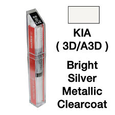 KIA OEM Brush&Pen Touch Up Paint Color Code : 3D/A3D - Bright Silver Metallic