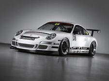Porsche 997 911 Cup Zusatzscheinwerfer Blende Stoßstange Satz Tuning