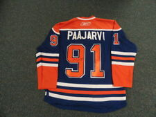 Magnus Paajarvi Signed Signed Oilers Home Jersey Rare