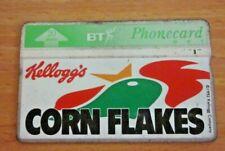 UK 20 Units phonecard / Phone card / telecard Kellogg's Corn flakes 1992 - used