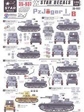 Star Decals 1/35 GERMAN PANZERJAGER I AUSF.B Tanks