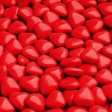 Mini Heart Chocolate Dragees 1KG Wedding Favour Baby Shower Valentine RED