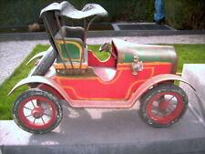 Oldtimer - großes Spielzeugauto - ca. 1928 - aus Holz, Metall, Leder, Porzellan